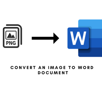 How to convert an Image to Word Document?