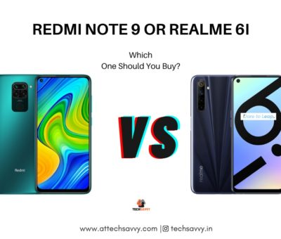 Which One Should You Buy Redmi Note 9 or Realme 6i? Specifications Comparison