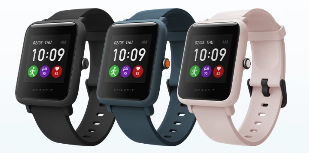 Amazfit Bip S Lite Launched in 3 colours