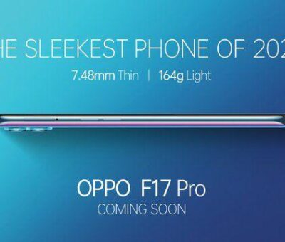 Oppo F17 Pro with 7.48mm Thin Design Confirmed to Launch in India Soon
