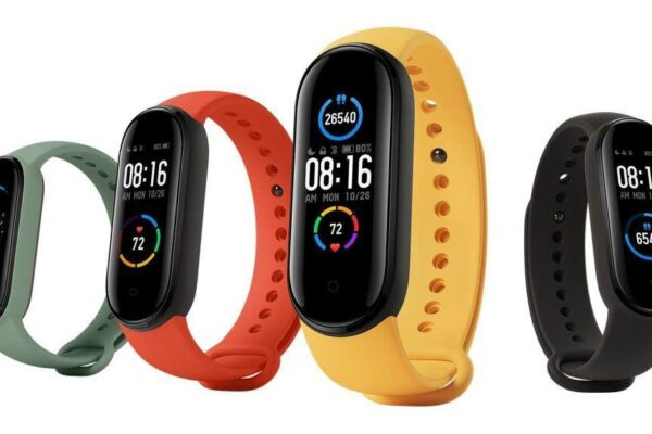 Mi Smart Band 5 with Magnetic Charger, Bigger AMOLED Display Launched in India at Rs. 2,499