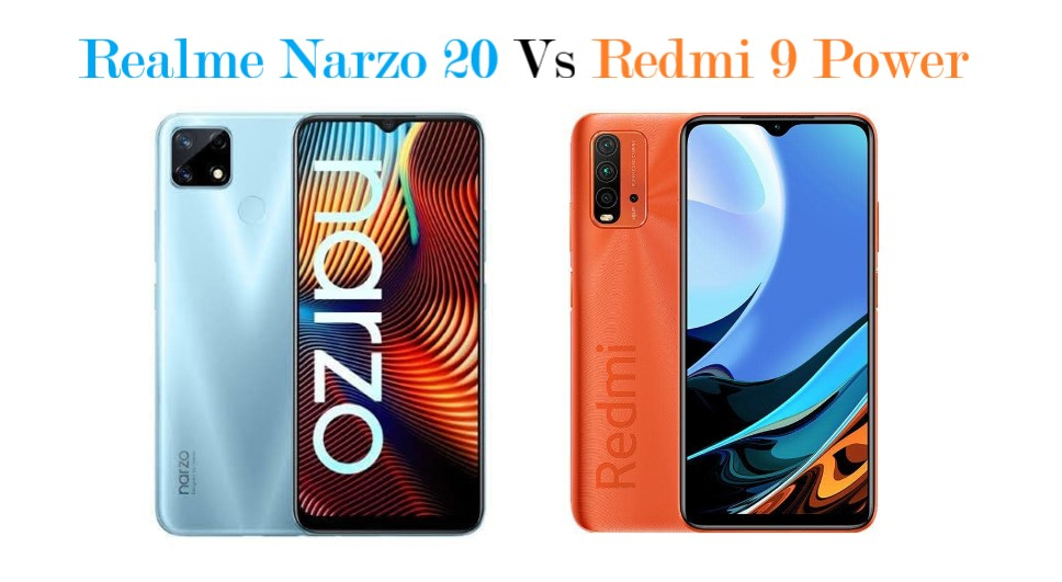 Redmi 9 Power Vs Realme Narzo 20
